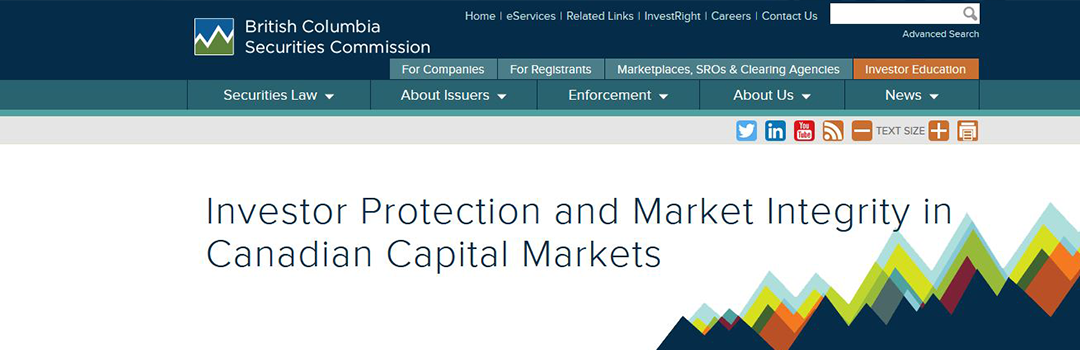BC Securities Commission gets strongest collection and enforcement powers in Canada