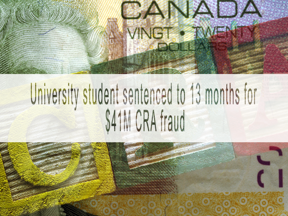 University student sentenced to 13 months for 'absurdly easy' $41M fraud