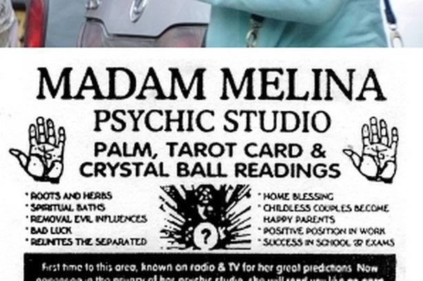 Psychic in cash scam: Madam Meline