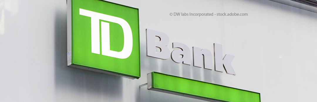 Woman sues TD Bank for violating a duty of care to its customers