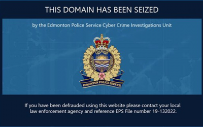 Three web domains seized in online job scam